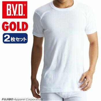 GOLD 丸首半袖シャツ2枚セット