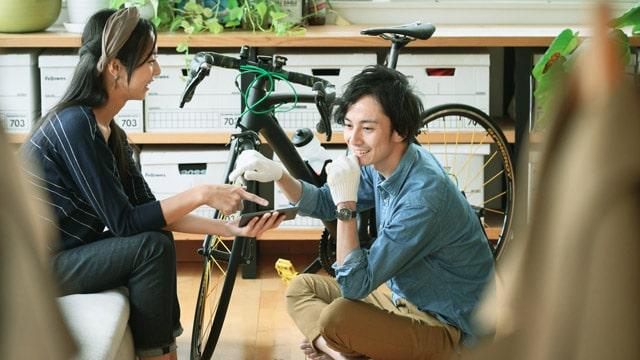 自分好みの自転車を選ぼう!