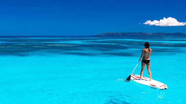 海や川で、SUP&SUPヨガを楽しもう!
