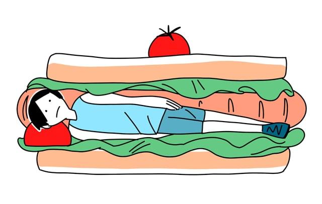 心肺機能向上サンドイッチ